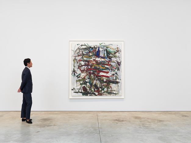 Exhibition view: Joan Mitchell, Joan Mitchell: Paintings from the Middle of the Last Century, 1953–1962, Cheim & Read, New York (6 September–3 November 2018). Courtesy Cheim & Read.