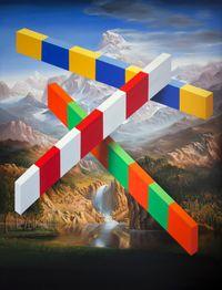The Bowery by Peter Daverington contemporary artwork painting