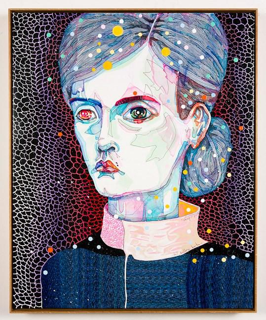 shiny by Del Kathryn Barton contemporary artwork