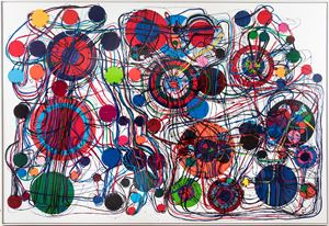 95A by Atsuko Tanaka contemporary artwork