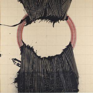 Alfabeto senza fine 3 by Emilio Scanavino contemporary artwork