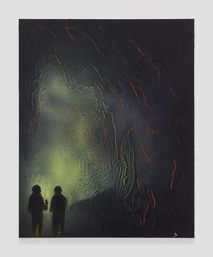Cave Interior #1 by Tala Madani contemporary artwork