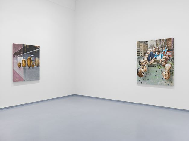 Exhibition view: Jim Shaw,The Family Romance, Metro Pictures, New York (26 February–13 April 2019). Courtesy Metro Pictures, New York.