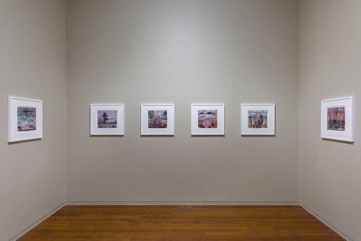Installation view, Fiona Hall: Afraid Cascade, Roslyn Oxley9 Gallery, Sydney (6–28 March 2020). photo: Luis Power