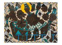 Found Buried #10 by Lari Pittman contemporary artwork painting