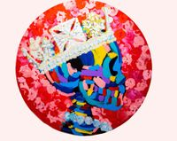 The Crown by Bradley Theodore contemporary artwork painting