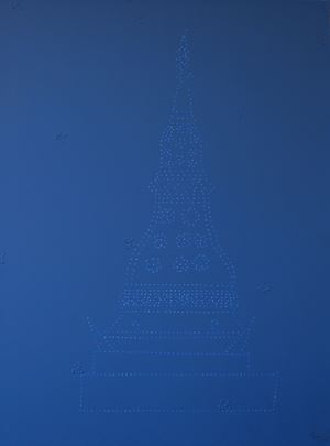Blue Chedi by Sakarin Krue-On contemporary artwork