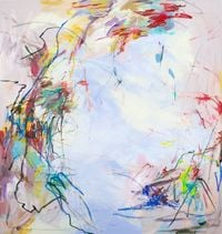 A mild spring night No.2 by Wang Xiyao contemporary artwork painting, drawing