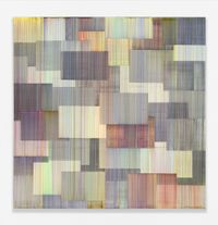 Nieri by Bernard Frize contemporary artwork painting