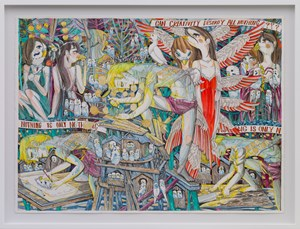 Fight Against Nothing by Koichi Enomoto contemporary artwork