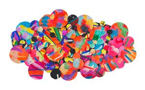 Untitled #8H by Howardena Pindell contemporary artwork