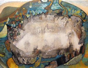 Michi Neko by Hanako Kunishi contemporary artwork