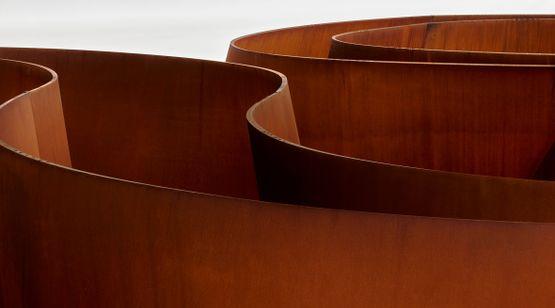 18 Sep 2021–18 Sep 2022 Richard Serra contemporary art exhibition