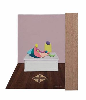 Palace-mini 宮 - mini by Huang Yishan contemporary artwork