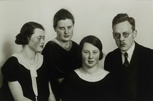 Sisters and Brothers by August Sander contemporary artwork