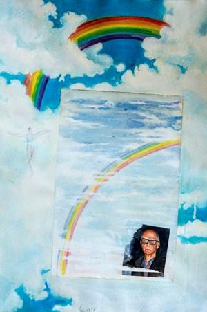 One End of the Rainbow 虹的一端 by Gu Fusheng contemporary artwork