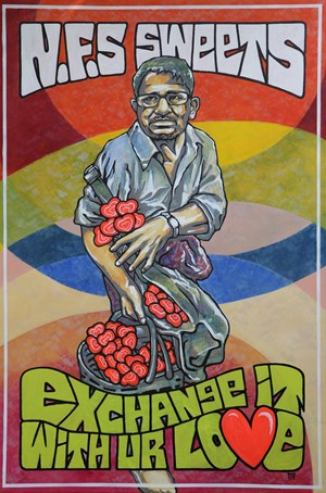 N.F.S Sweets by Wunna Aung contemporary artwork