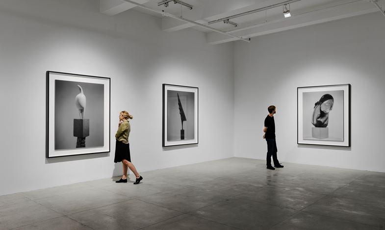 Exhibition view: Hiroshi Sugimoto, Past Presence, Marian Goodman Gallery, New York (10 September–26 October 2019). Courtesy Marian Goodman Gallery.