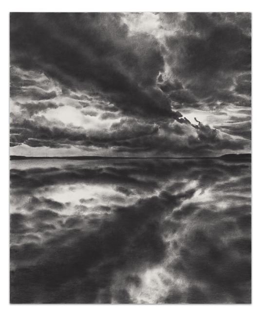 Horizon Gravity by April Gornik contemporary artwork