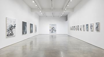 Contemporary art exhibition, Gary Simmons, Screaming into the Ether at Metro Pictures, New York, USA