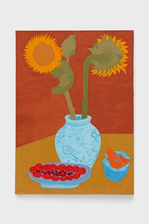 Sunflower Bouquet by March Avery contemporary artwork painting