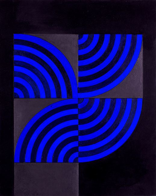 Code 8 by Lubna Chowdhary contemporary artwork