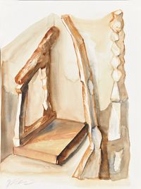 Crooked House No.20151206 错屋 No.20151206 by Chen Yujun contemporary artwork works on paper