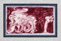 Calendrier - Janvier by Pierre Alechinsky & Jiri Kolar contemporary artwork painting