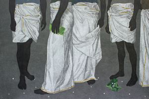 Mulla IV (Jasmine) by Devi Seetharam contemporary artwork