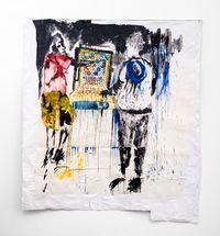 MuChina by Gareth Nyandoro contemporary artwork painting, works on paper