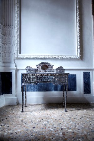 My Mother's Dressing Table by Tayeba Lipi contemporary artwork