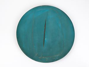 Concetto spaziale by Lucio Fontana contemporary artwork