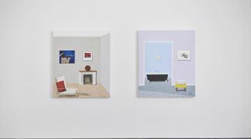 Contemporary art exhibition, Sam Nhlengethwa, Interiors continued at Goodman Gallery, London