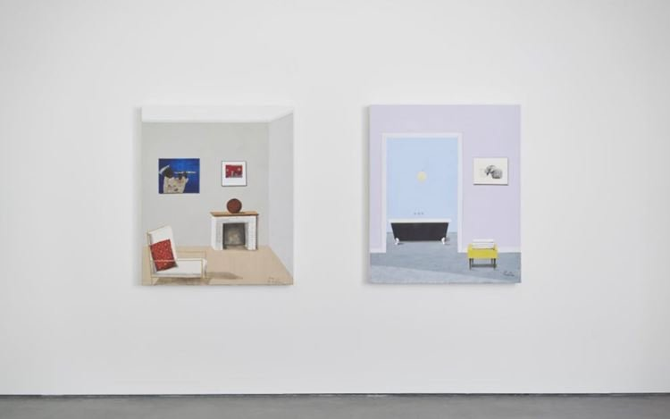 Exhibition view: Sam Nhlegethwa, Interiors continued, Goodman Gallery, London (9 July–11 September 2020). Courtesy Goodman Gallery.