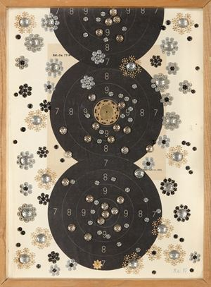 Bullets and Flowers by Bela KOLAROVA contemporary artwork