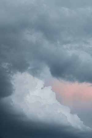Pink Cloud by Philipp Keel contemporary artwork