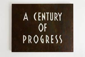 A Century of Progress by Tobias Bernstrup contemporary artwork
