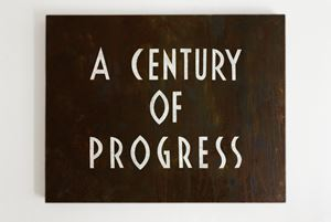 A Century of Progress by Tobias Bernstrup contemporary artwork painting
