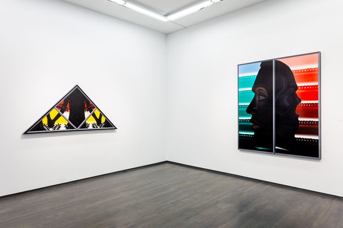 Exhibition view: Roger Brown, Hyperframe, Washington Blvd, Chicago (21 March—2 December 2020). Courtesy Kavi Gupta.