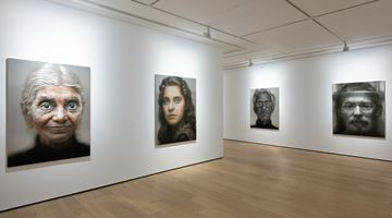 Contemporary art exhibition, Han Young Wook, FACE at Whitestone Gallery, Hong Kong