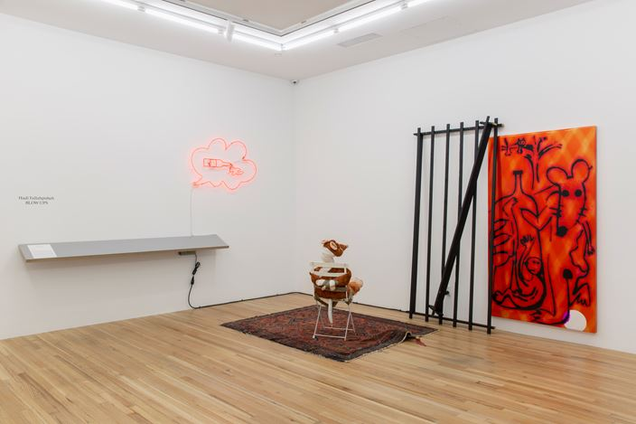 Exhibition view, Hadi Fallahpisheh, BLOW-UPS, Andrew Kreps Gallery, 22 Cortlandt Alley, New York (23 October–7 November 2020). Courtesy the Artist and Andrew Kreps Gallery, New York Photo: Greg Carideo.