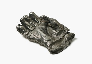 He Glove, (Working Gloves Series) by Mike Meiré contemporary artwork