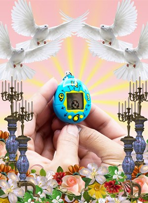 Relic (Tamagotchi) by Mak Ying Tung 2 contemporary artwork