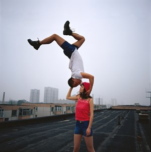 Love at the high place 1 047-02 by Li Wei contemporary artwork