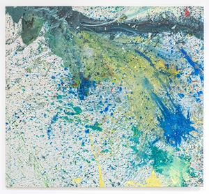 Punta Campanella 37 by Shozo Shimamoto contemporary artwork