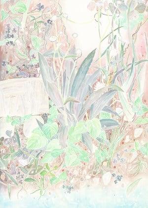 Water, ground is always humid by Ryoko Aoki contemporary artwork
