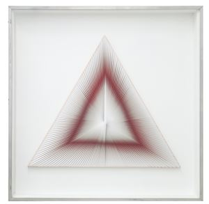 Dinamica triangolare by Alberto Biasi contemporary artwork