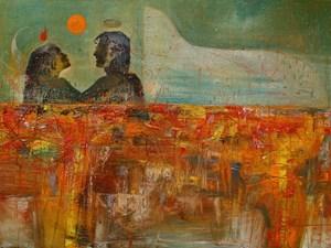 For Times' Sake by Nasirun contemporary artwork