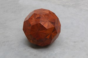 Untitled (Wooden Ball) by Ai Weiwei contemporary artwork