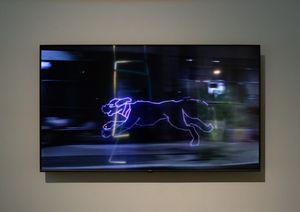 Run Dog Wild by James Clar contemporary artwork